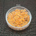 Bead, Seed beads, Glass, orange, Disc shape, 2mm, 25g, 1650 Beads, (SSZ036)
